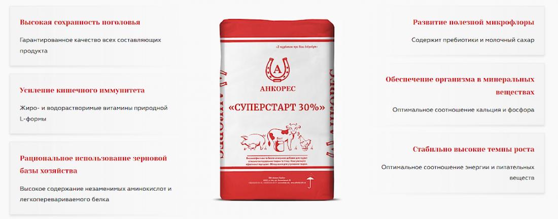 Как кормить поросят после отъема кормовыми добавками ООО «Анкорес-Украина»