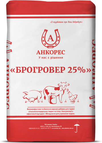 БРОГРОВЕР 25% - 20 кг